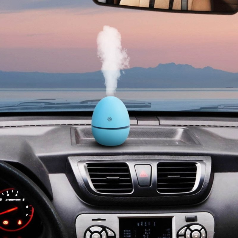 Portable Mini Aromatherapy Air Ultrasonic Humidifier (Blue) Singapore