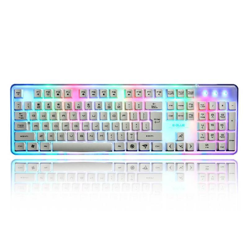 8 Color USB Gaming Keyboard LED Backlight Backlit Wired For Laptop - intl Singapore