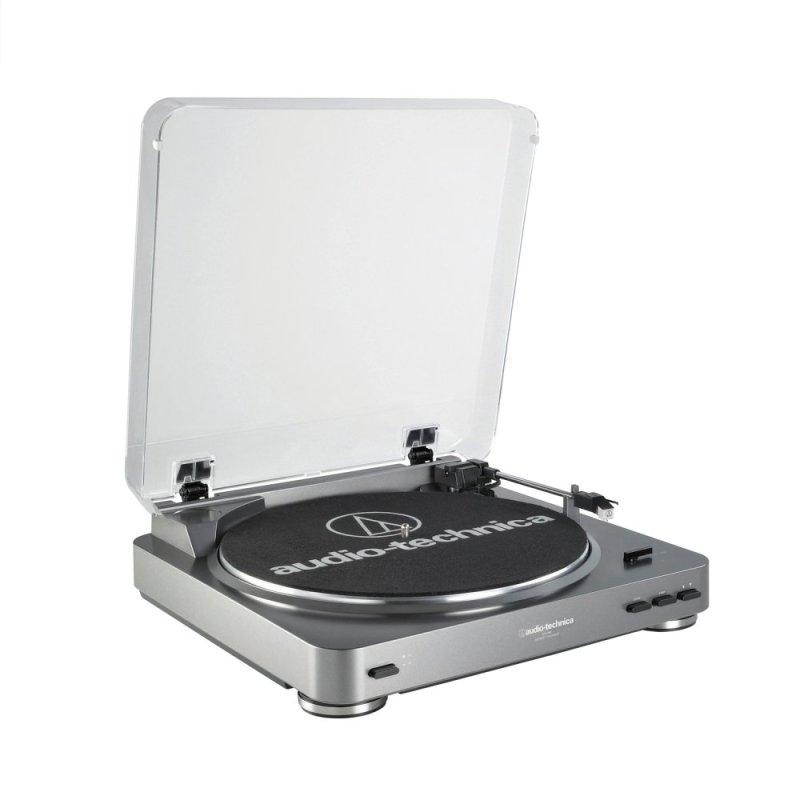 Audio-Technica AT-LP60-USB Turntable (Gun Metal) Singapore
