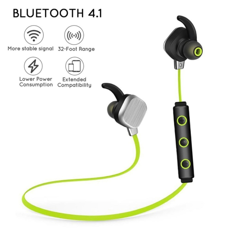 Bluetooth Headphones, Wireless In-Ear Earbuds Waterproof Noise Cancelling Earphones With Mic And Volume Control, HD Stereo Magnetic Sport Headset(Red) - intl Singapore