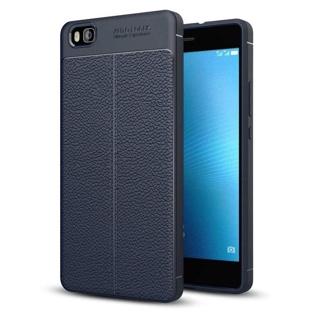Huawei P8 Lite Case , Mooncase [Ultra-Thin] Anti-Scratch Imitation Leather