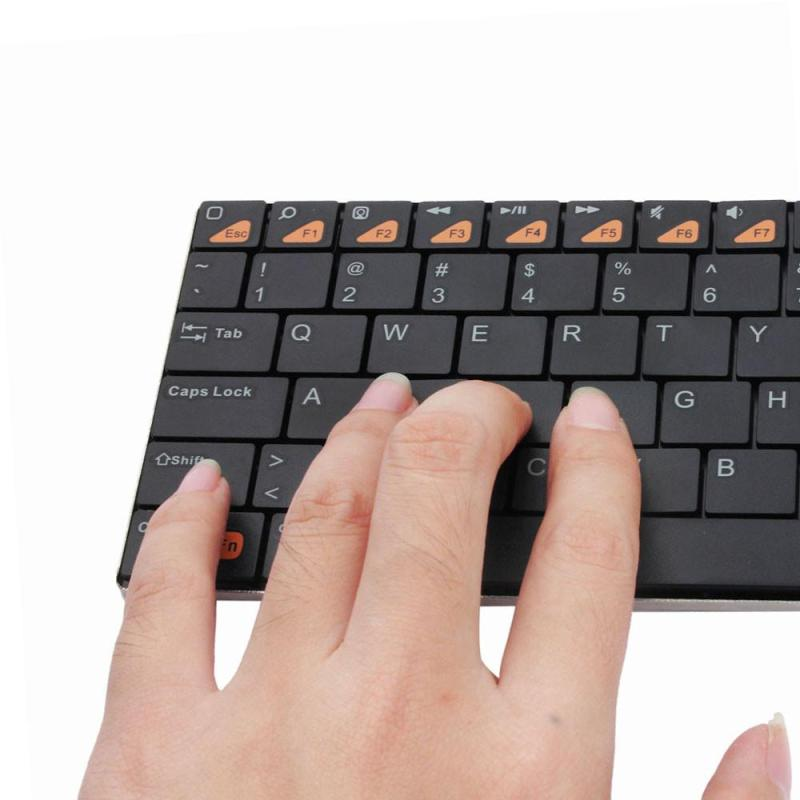 Mini USB Handheld Bluetooth 3.0 Wireless Keyboard for ipad smartphone PC BK - intl Singapore