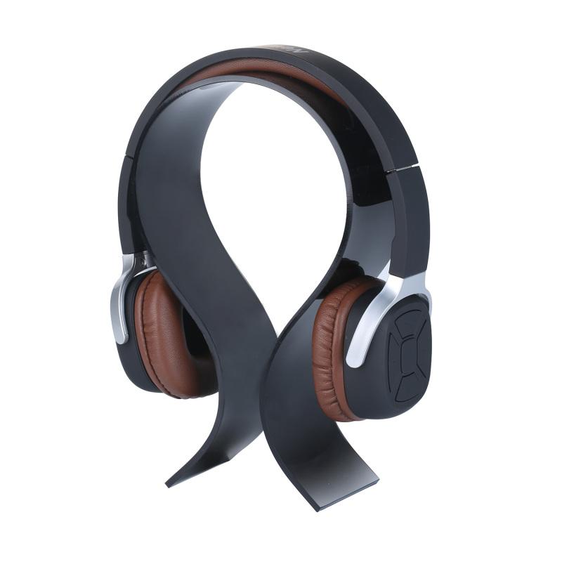 niceEshop Headphone Headset Earphone Stand Display Holder Hanger Suitable for All Headphone Sizes (Black) Singapore