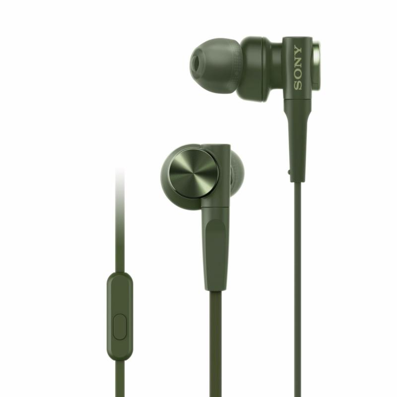 SONY MDR-XB55AP Extra Bass In-earphones - Green Singapore