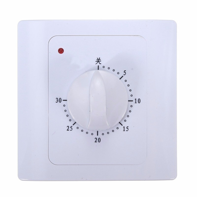 AC 220V 10A 30Min Time Countdown Intelligent Time Timer Switch Control Socket - intl