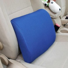 Big Discount New Lumbar Cushion Back Support Memory Foam Travel Car Seat Home Office Chair Pillow( #2 ) - intl
