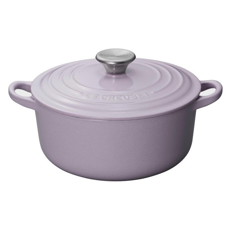 Le Creuset Cast Iron Round French Oven 22cm, Classic (Lavender) - Online Exclusive Singapore