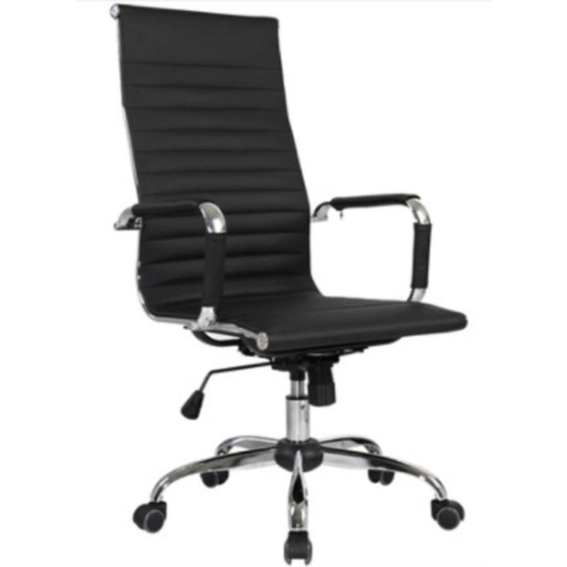 Office Manager Chair ( LEATHER ) (Free Installation + 1 Year Warranty) Singapore