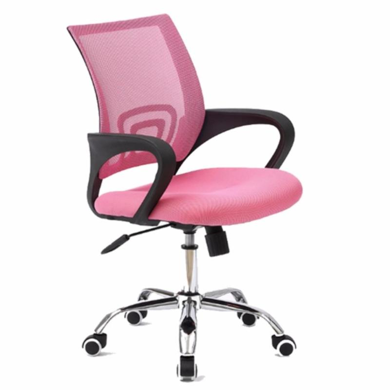 Office Chair Typist Chair ( BLACK FRAME MOBILE ) (Free Assembly + 1 Year Warranty) Singapore