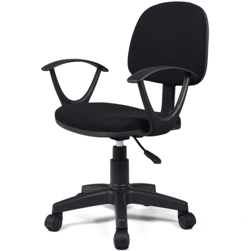 Office Chair Typist Chair Ver 2 With HandRest (Free Installation + 1 year warranty) Singapore