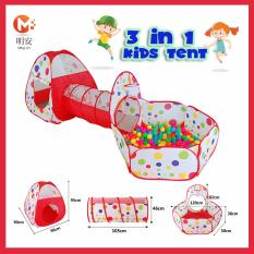 3 IN 1 ROLE PLAY KIDS TENT TUNNEL- FUN TUNNEL HOUSE WITH 10  sc 1 st  Lazada Singapore & Play Tents u0026 Tunnels - Buy Play Tents u0026 Tunnels at Best Price in ...