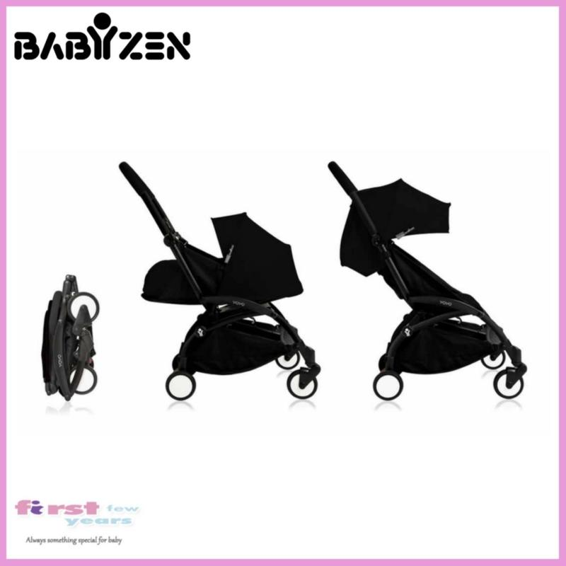 Babyzen Yoyo+ 0+ and 6+ Stroller (Black Frame/Black) Singapore