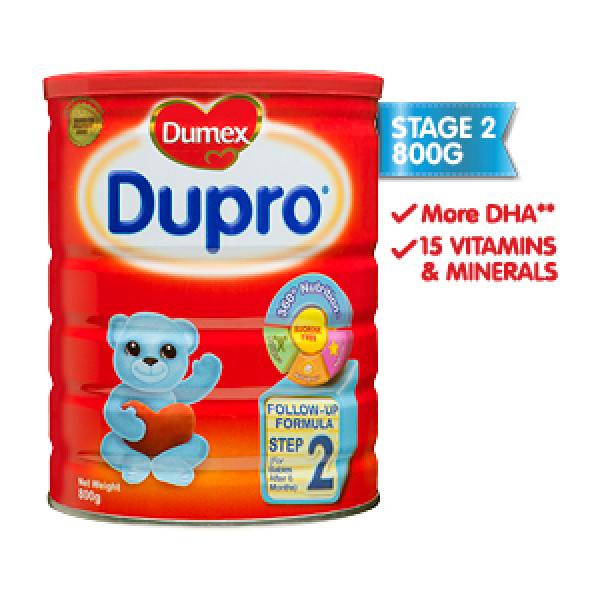 Dumex Dupro, Step 2 Baby Milk Formula 800g