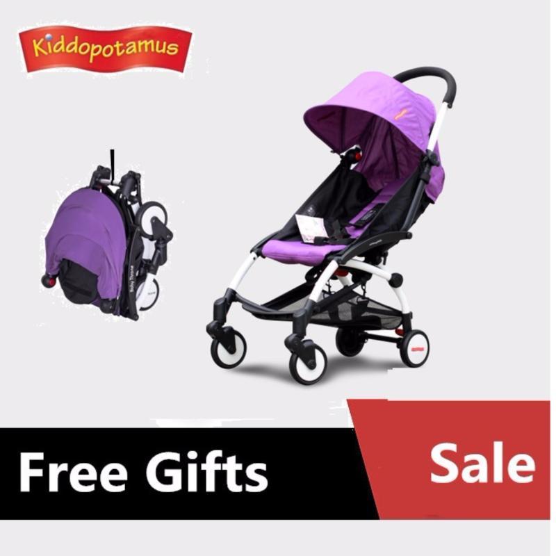 Kiddopotamus® Cabin size Ultra Lightweight one hand fold baby stroller Singapore