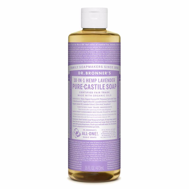 Buy Dr Bronners Organic Magic Castile Soap 16oz Lavender Singapore