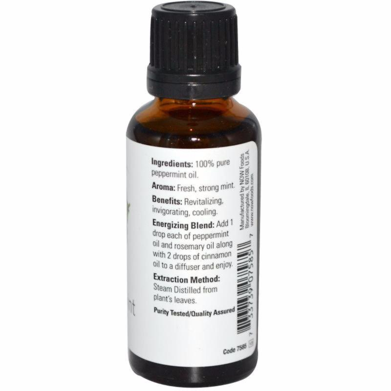 Buy NOW, 100% Pure Peppermint Essential Oil 30 ml Singapore