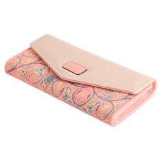Yingwei Lady Leather Wallet Pink - intl