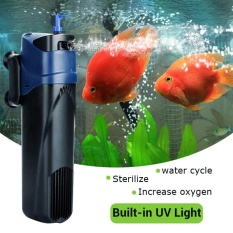 5W UV Sterilizer Submersible Oxygen Pump Filter Water Cycle Aquarium Fish Tank - intl