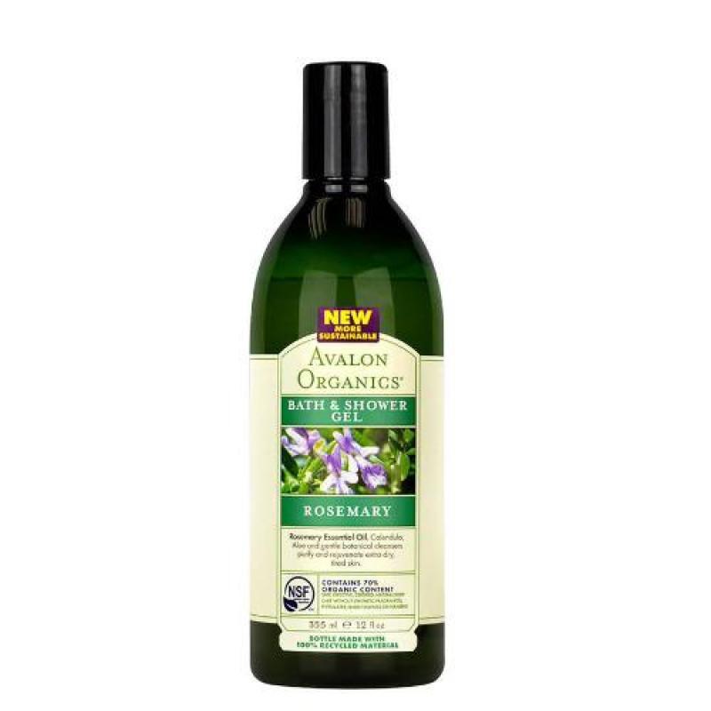 Buy Avalon Organics Rosemary Bath & Shower Gel 12oz Singapore