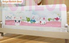 Baby Bed Rail Guard Latest Design 15m Beige Rabbit Bear