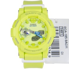Casio Watch BABY-G For Running Yellow Resin Case Resin Strap Ladies NWT + Warranty