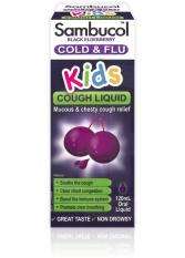 Sambucol, Black Elderberry, Kids Cough Liquid (120ml)