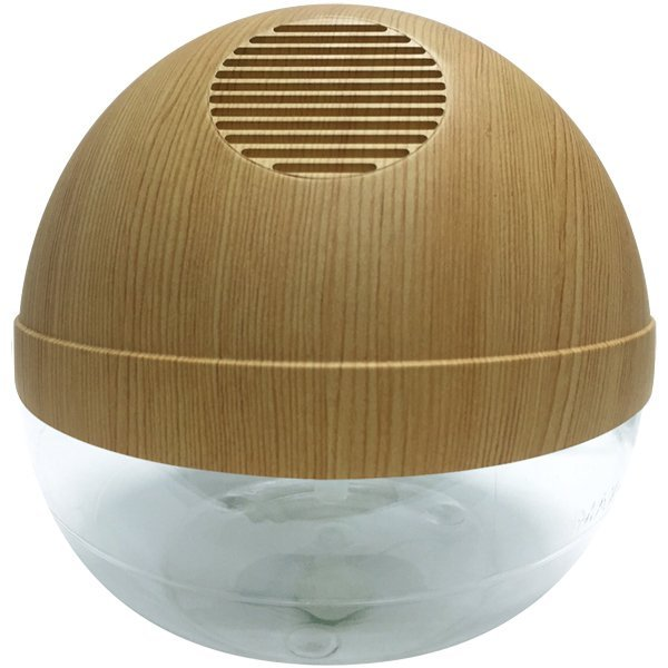 Water Air Purifier W/ Ionizer and LED (Pine Wood) Singapore