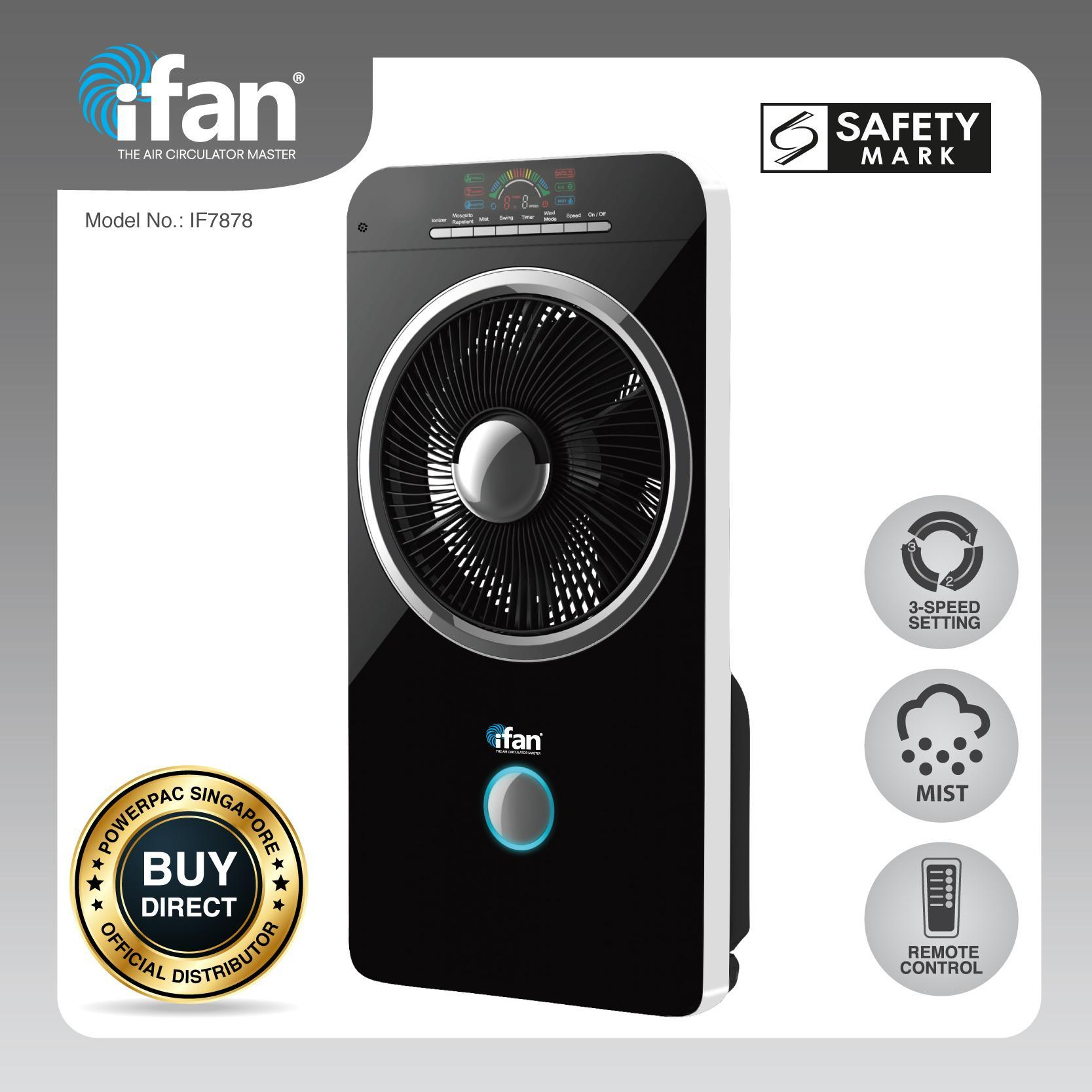 Cooling And Heating Hitachi Air Purifier Ep A3000 W Ifan Powerpac Mist Fan Cooler With Ionizer If7878