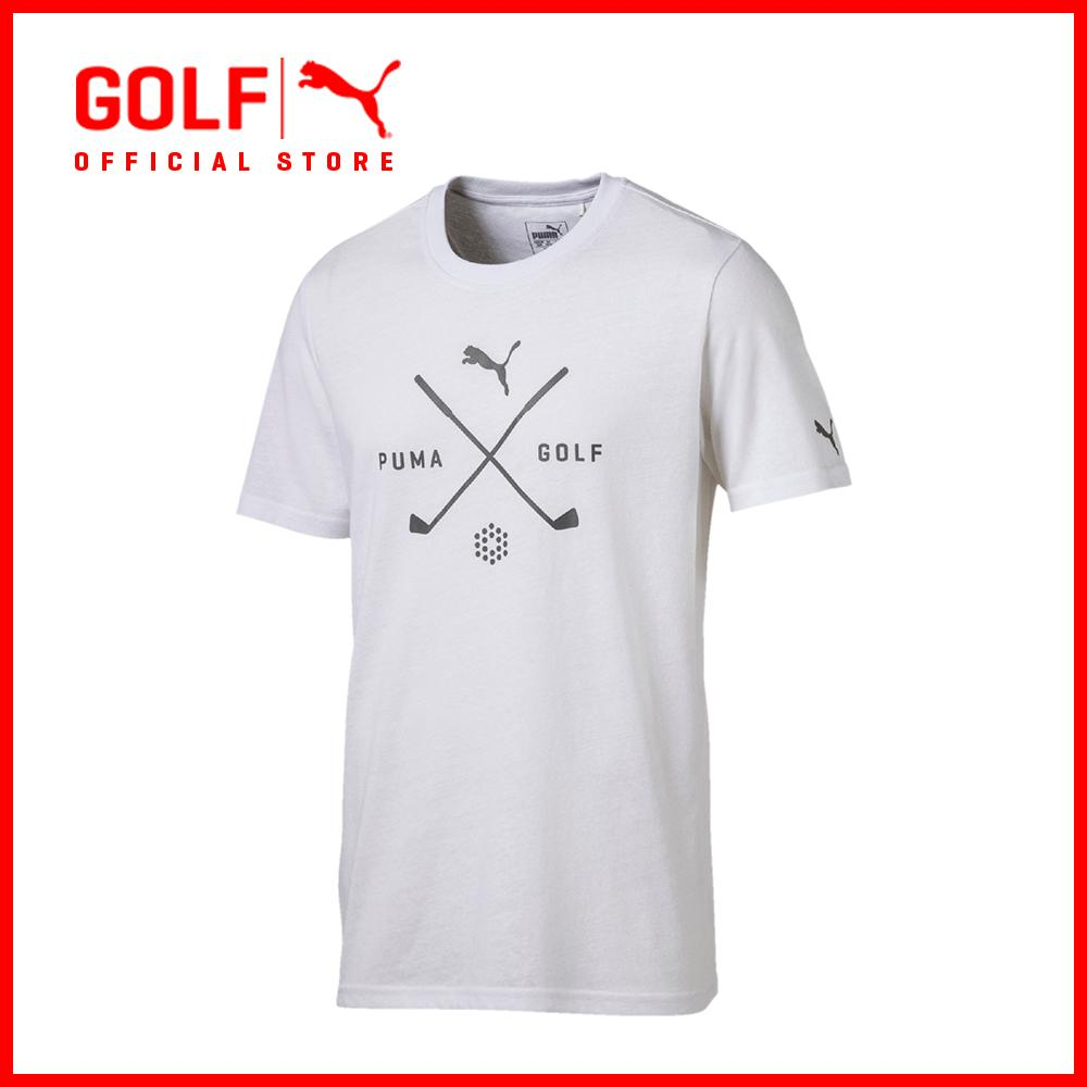 a9951a90f7d7 Puma Golf Men Golf Shield Tee - Bright White