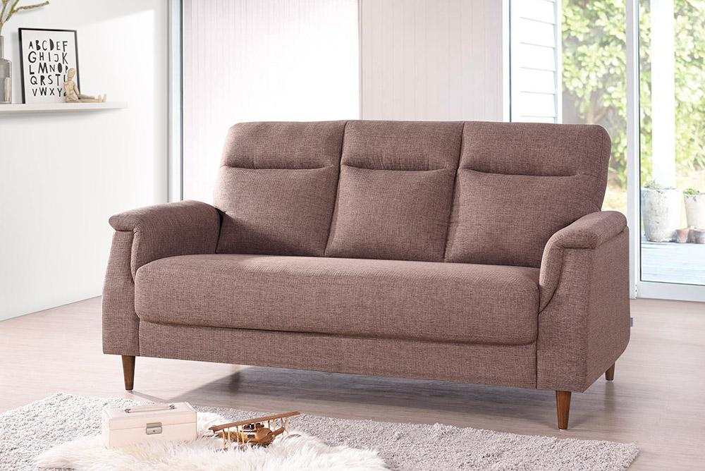 Remy 3 Seater Fabric Sofa * Color Choice * Free Delivery * Local Made * Elegant Design
