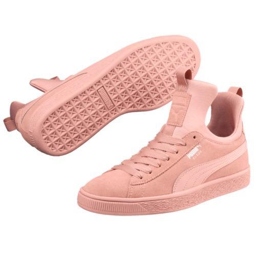 Puma Suede Fierce Wn s Sneakers - Peach Beige-Peach BeigePeach Beige-Peach  Beige ae683c33a