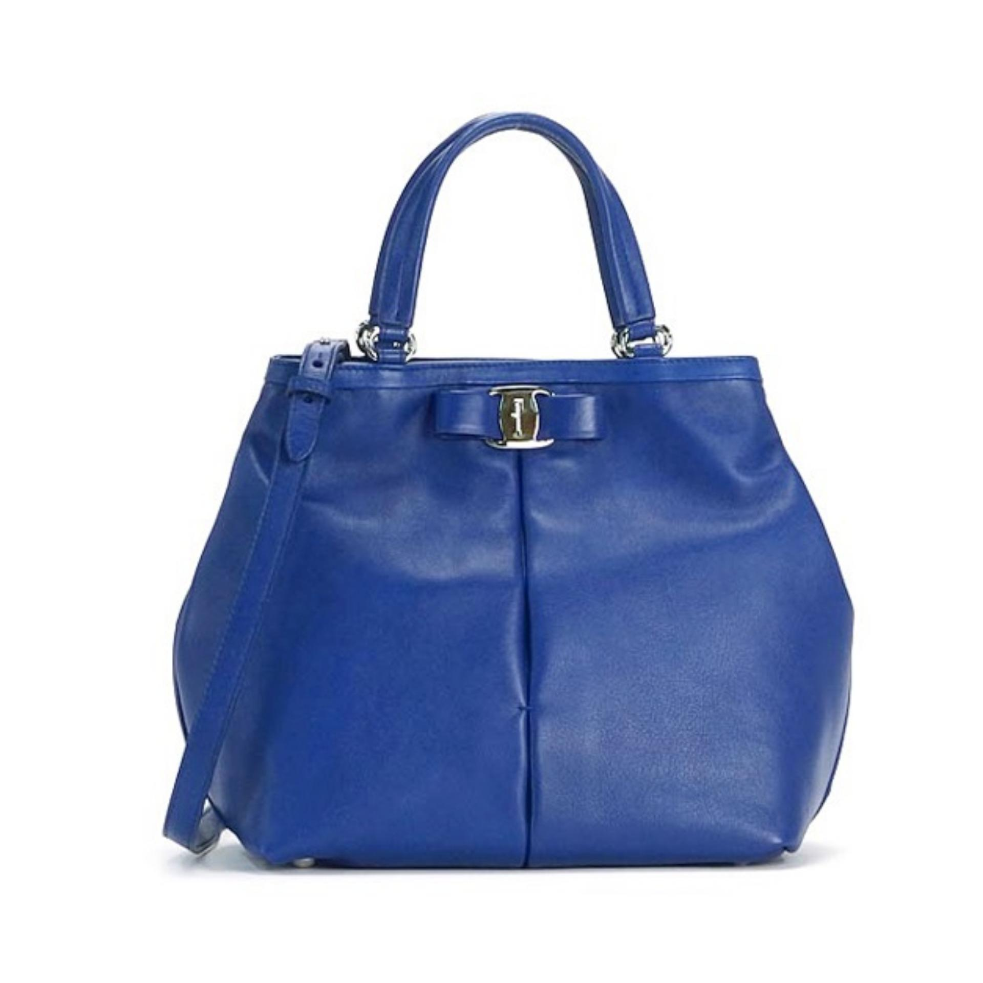 d3af586d5c Salvatore Ferragamo Ninette Bag (Blue)   21E309568522