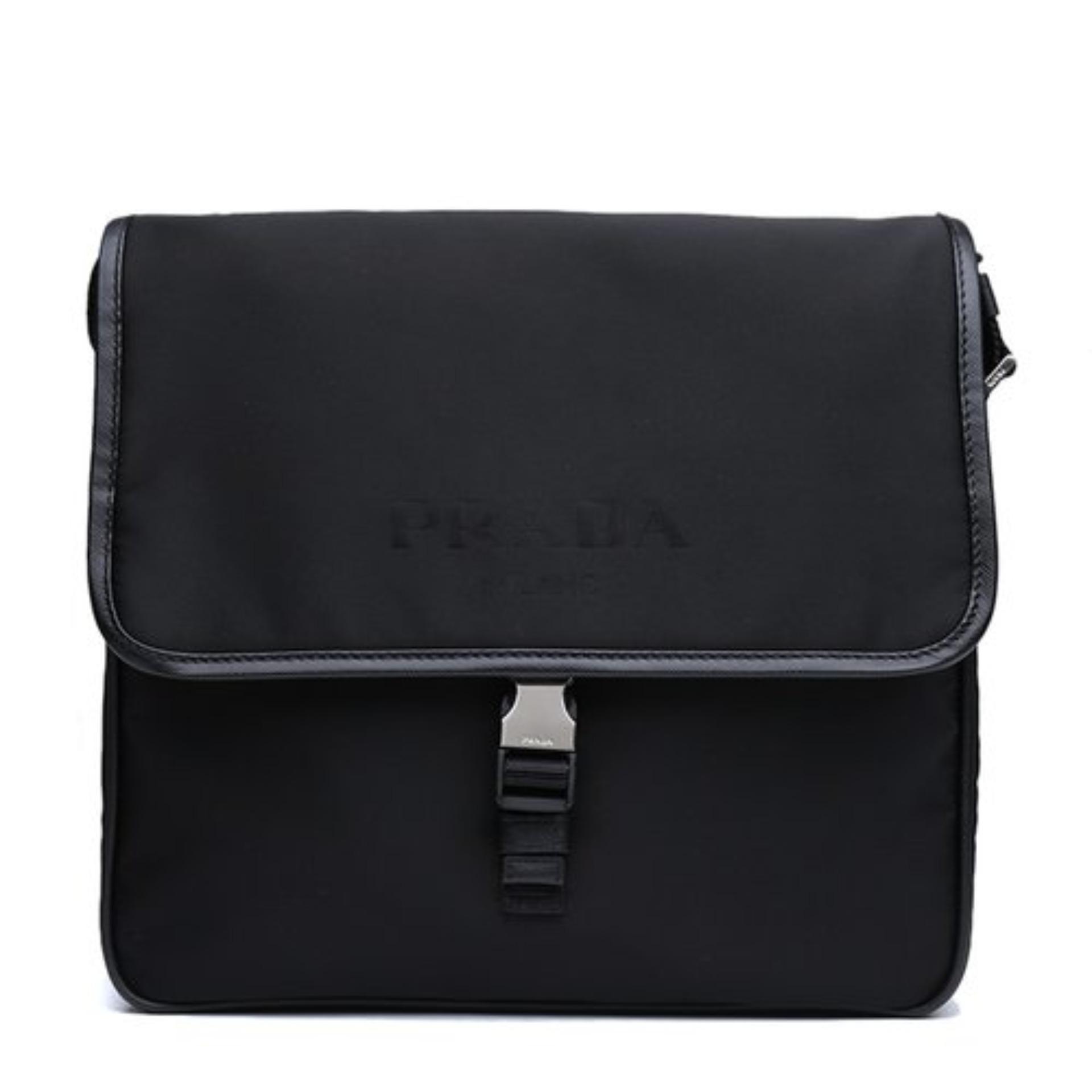 425f3a95b742 Prada Vela Messenger Bag (Nero) # 2V166064F0002