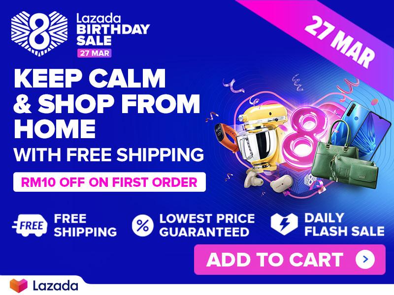 【优惠】Lazada 入手 Samsung Galaxy S20 系列获取 RM300 优惠卷 + RM378 赠品! 14