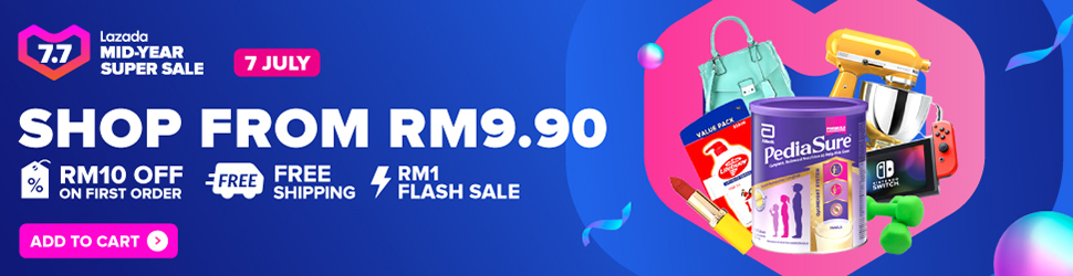 【Lazada 7.7】 Apple Mid-Year Sales 优惠信息 :iPhone 11 Pro Max 折扣超过 RM500! 6