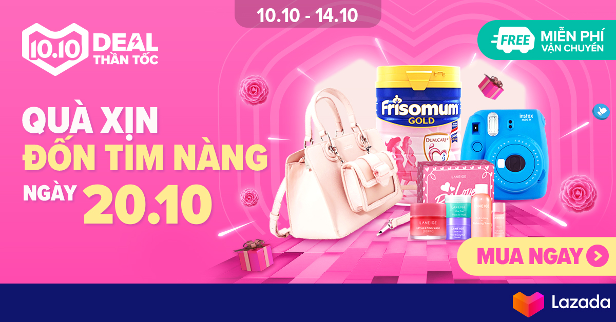 Deal Thần Tốc - Gift For Women 20.10