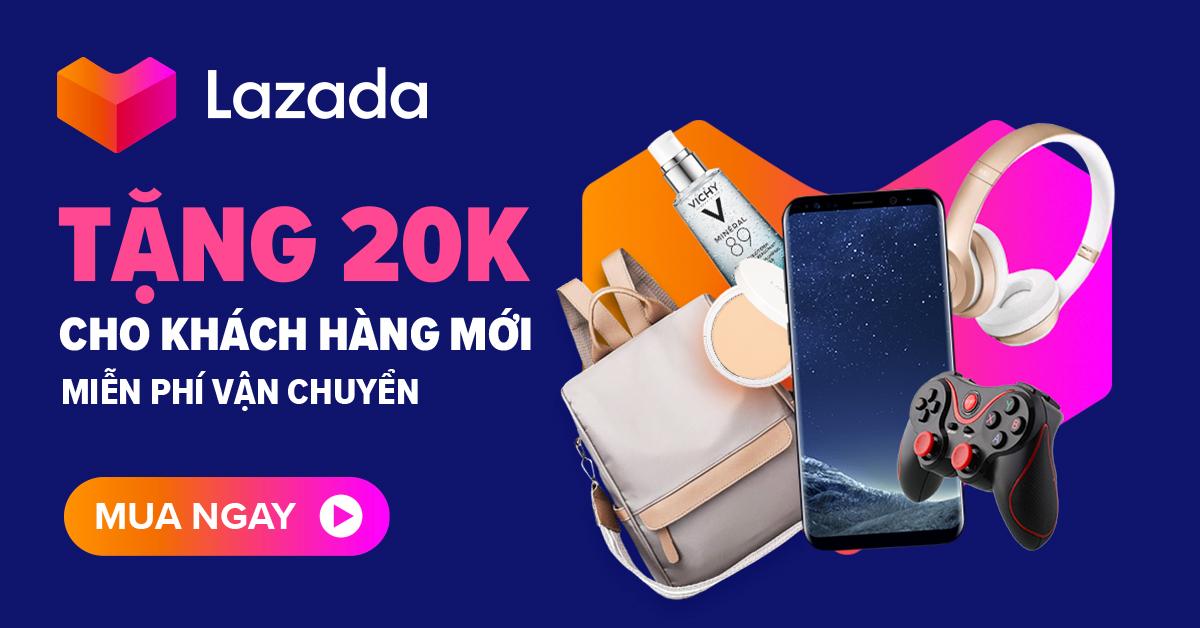Khuyến mãi Voucher 20K Dành Cho Khách Hàng Mới