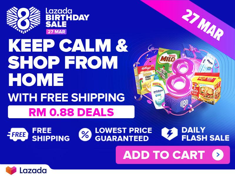 Lazada Birthday Sales