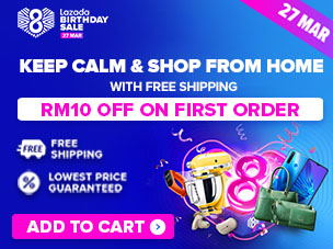 Lazada 8th Birthday Sale