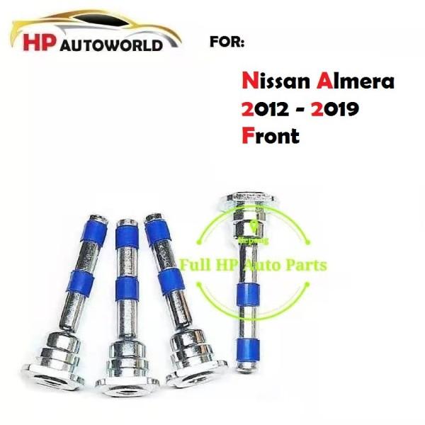 Nissan Almera 2012 - 2019 Front Disc Brake Pin / Caliper Pin With Silicon Bush