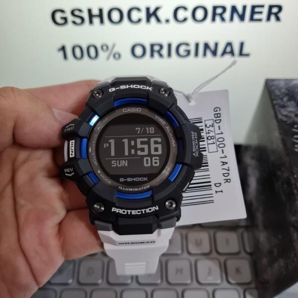 G-SHOCK 100% ORIGINAL GBD-100-1A7DR/GBD-100-1A7/GBD100/GBD-100 BLUETOOTH Malaysia