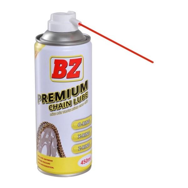 Dưỡng sên BZ Premium Chainlube mẫu mới, đậm đặc , ko văng, hương thơm dịu nhẹ nguyên liệu Nhật Bản.