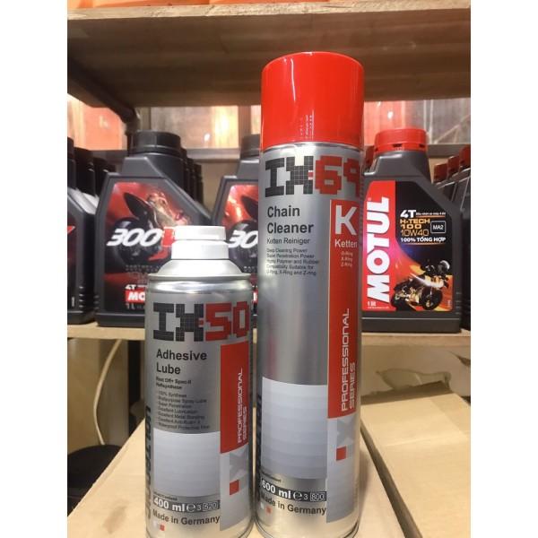 Combo vệ sinh- bảo dưỡng sên Ix69+Ix50