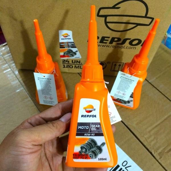 Nhớt Láp - Nhớt hộp số Repsol Gear Oil 80W-90 Dùng Cho Xe Máy Tay Ga