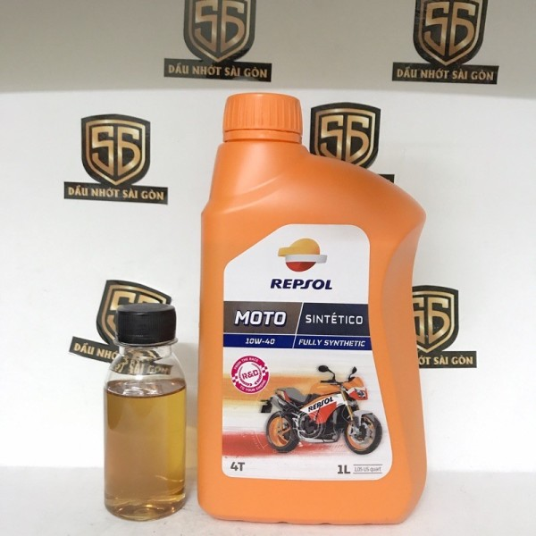 Nhớt cao cấp Repsol Sintetico 10W40 Fully Synthetic 1L