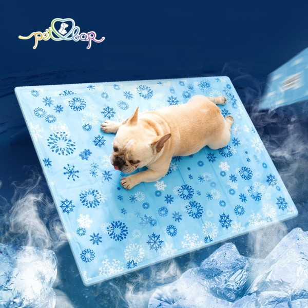 Thảm mát cho thú cưng – Đệm gel lạnh chống nóng cho chó mèo dễ làm sạch