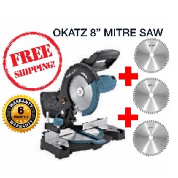 """OKATZ 8"""" Miter Saw with Laser 1200W (6 MONTH WARRANTY)"""