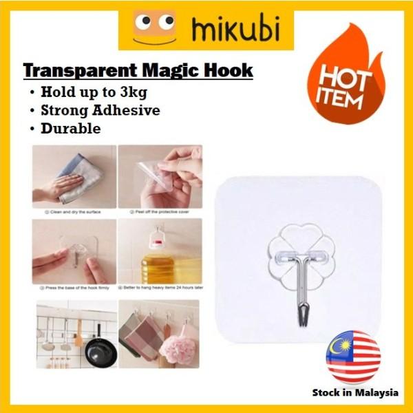 MKB Transparent Magic Hook / Penyangkut Dinding