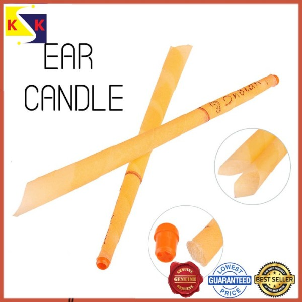 2pcs Indian Theraphy Ear Wax Candles Nature-Coning Beewax