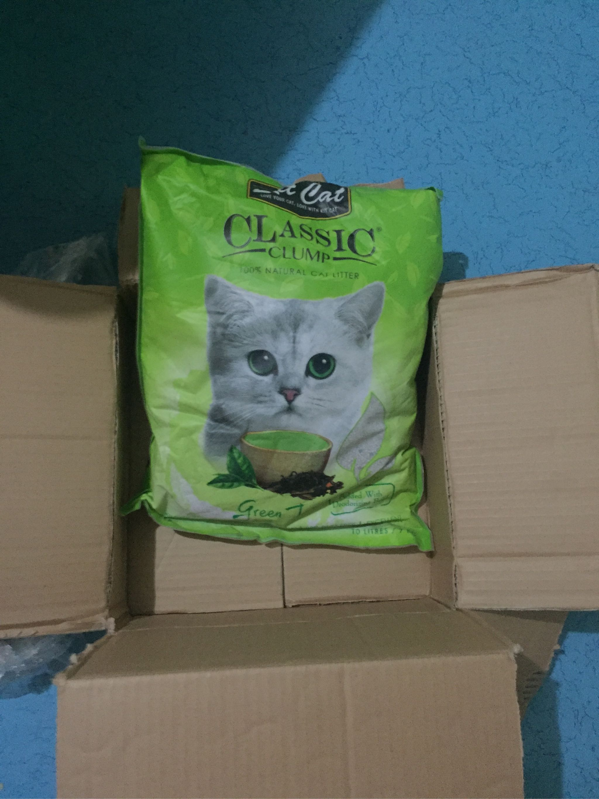 Fast Delivery Cod Kit Cat All Natural Charcoal Mix Berries Coffee Baby Powder Greentea Lemon Classic Clump Cat Litter 10l Lazada Ph